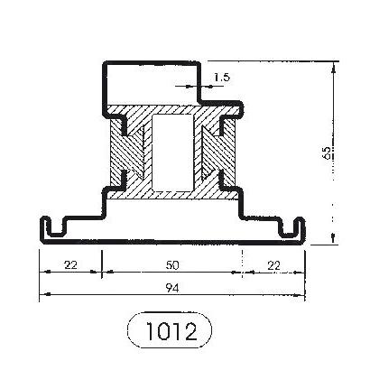 Sistemi per serramenti profilo taglio termico tirelli for Uniform sistemi per serramenti