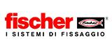 Logo di Fischer i sistemi di fissaggio